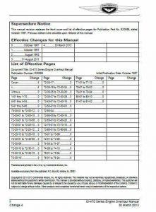 Teledyne Continental Motors Overhaul Manual IO-470 X30588.4
